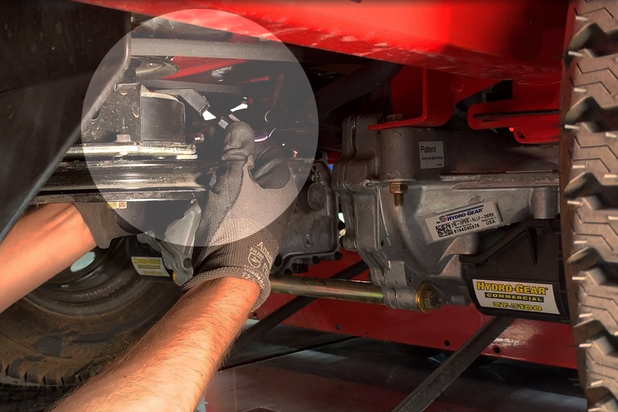 How to Change a Lawn Mower Hydro Belt   Gravely