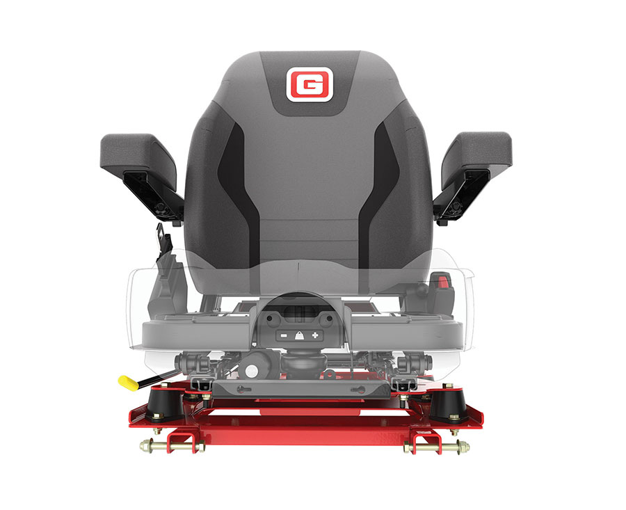 Air-Ride Suspension Seat