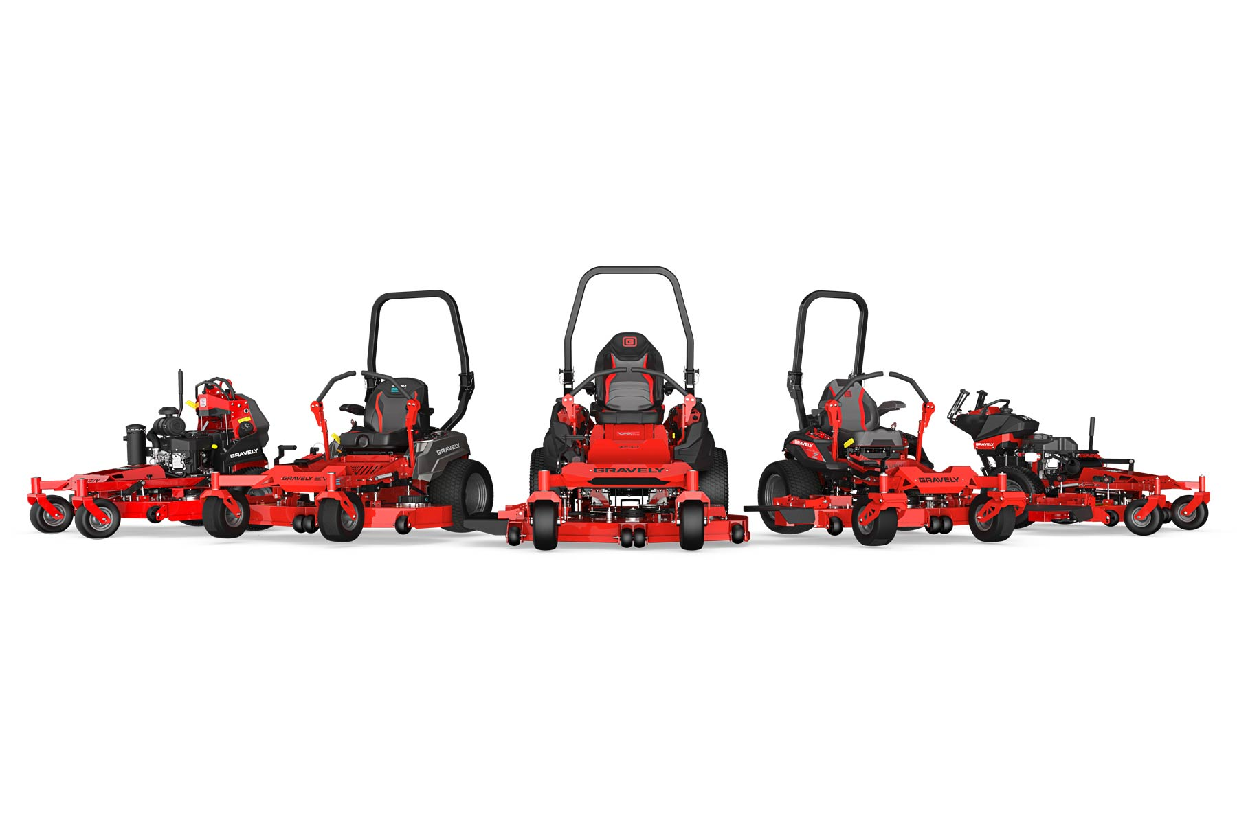 Gravely Unveils Innovative Commercial and Residential Mowers